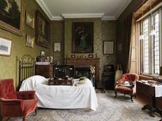 Tommy Robartes's Bedroom at Lanhydrock, Cornwall
