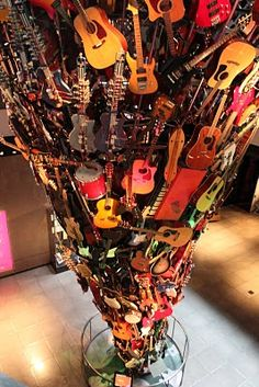 Experience Music Project, Seattle Washington. A fun family outing. Spent hours here enjoying the activities.  Great place for kids.