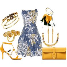 """""""Polished Sunshine"""" by angiemine213 on Polyvore"""