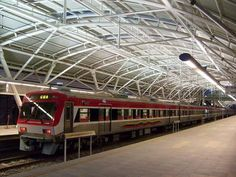 venezuela train   Train in station at Cua . First leg of the new national railway system ...