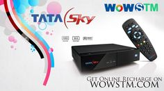 Stay Connected!!! Watching your favorite programs on Tata sky without any interruption. Go and get online recharge at wowstm.com. #tatasky, #dishtv, #onlinerecharge, #DTHrecharge