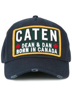 ca9e3fc4305bc DSQUARED2  Caten  patch baseball cap.  dsquared2   caten 棒球帽