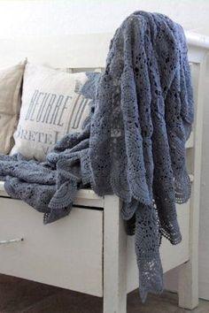 crochet throw blanket