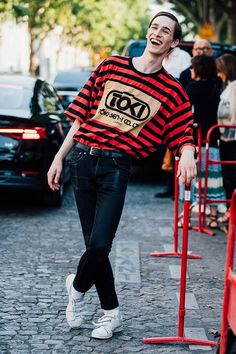 fashion week homme printemps ete 2018 paris street style 20