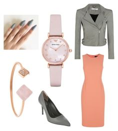 """""""Lookin' elegant"""" by morganschulz on Polyvore featuring Jaeger, IRO, Emporio Armani, Michael Kors and Fendi"""