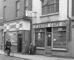 Savoy Café, old Dublin Dublin Map, Dublin Hotels, Visit Dublin, Dublin Castle, Dublin City, Dublin Ireland, Ireland Travel, Old Pictures, Old Photos