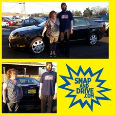 CONGRAT's to Mark & Stephanie Freeman ‼️On the purchase of their Ford Fusion ...We thank you for your purchase guys.‼️. Apply now @ www.SnapAndDrive.com to get you one... ✅✅✅EVERYBODY IS APPROVED✅✅✅. IN A SNAP #snapanddrive #creditplug
