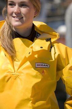 Ocean Classic Smock - Fischerbluse aus PVC auf Baumwollträger. DAS Ölzeug für…