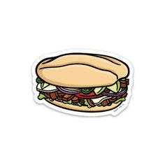 The Torta Sticker – blank tag co. Food Stickers, Kawaii Stickers, Printable Stickers, Brand Stickers, Journal Stickers, Cute Laptop Stickers, Tumblr Stickers, Waterproof Stickers, Aesthetic Stickers
