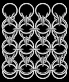 Lutra chainmaille weave tutorial