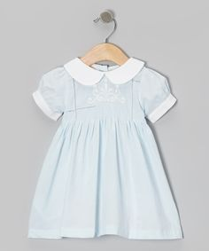 Blue Swirl Flower Dress - Infant & Toddler | Daily deals for moms, babies and kids