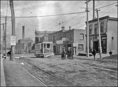 View looking north on Keele St. north of Dundas St. May Photo by Joseph Burr Tyrrell. - Courtesy of the Thomas Fisher Rare Book Library, University of Toronto. Toronto Pictures, Old Pictures, Old Photos, Toronto City, Downtown Toronto, University Of Toronto, Library University, Canadian National Railway, Canadian Things