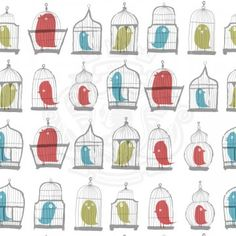 Birdcages by Luke James