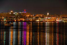 Portland, Maine Skyline