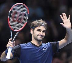 Roger Federer def.  Kei Nishikori 7-5, 4-6, 6-4