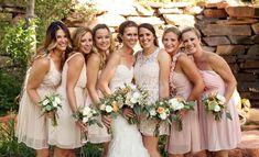 Blush mountain wedding at Louland Falls | Logan Walker Photography - see more at http;//fabyoubliss.com