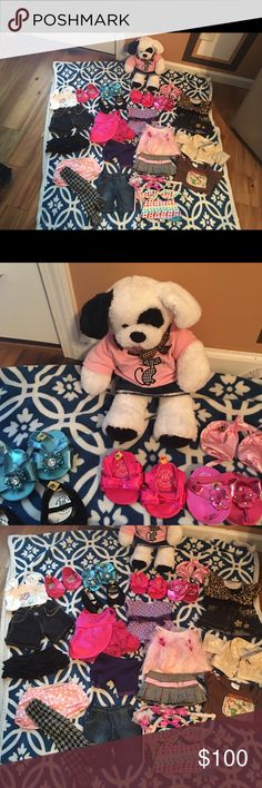 Build a bear 🐻! Bundle ! Make offer !! This is a lot of outfits and a bear all in a bundle. Make your child happy and they can play for hours! Build A Bear  Other