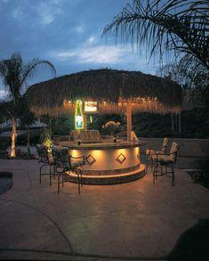 Tiki Bar in the backyard!
