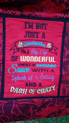 Crazy Quotes, Embroidery Designs, Sew, Sayings, Foolish Quotes, Lyrics, Bruges Lace, Fabric Sewing, Word Of Wisdom