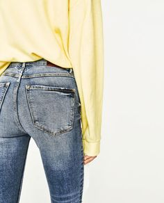 Imagen 6 de JEANS POWER STRETCH SKINNY FIT TIRO ALTO de Zara