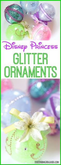 disney christmas tree These DIY Disney Princess Glitter Ornaments are perfect for the Disney fan. This easy holiday craft tutorial will look perfect hanging on the Christmas tree. Disney Christmas Decorations, Disney Ornaments, Glitter Ornaments, Xmas Ornaments, Homemade Christmas, Christmas Tree Ornaments, Christmas Time, Christmas Ideas, Handmade Ornaments