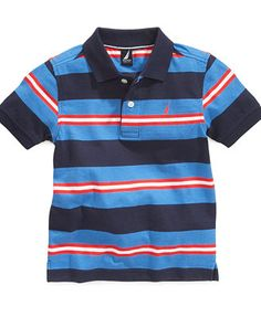 Nautica Kids Shirt, Boys Striped Polo