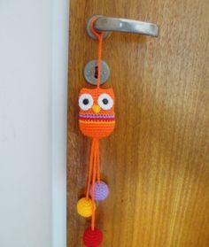 Crochet owl Owl Crochet Patterns, Crochet Owls, Owl Patterns, Love Crochet, Amigurumi Patterns, Crochet Designs, Crochet Flowers, Knit Crochet, Crochet Wall Hangings