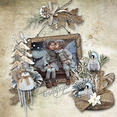 Winter Rustle by D's Design  http://www.oscraps.com/shop/Winter-Rustle-Full-Kit.html Photo Anna G. Use with Permissions