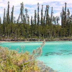 La perle de la Nouvelle-Calédonie A l'extrême sud de Grande Terre, se trouve l'île des Pins. Le site réserve de somptueux paysages de plages de sable fin et d'eaux translucides, comme dans la baie d'Oro. C'est un lieu préservé. Seuls quelques Mélanésiens et Kanaks vivent sur l'île.