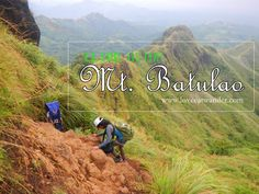 """Mt Batulao has open paths throughout and it offers two major trails – the """"Old Trail"""" and the """"New Trail"""". Hikers will be treated with beautiful scenes. Batangas, Climbing, Paths, Trail, Old Things, Mountains, Nature, Diy, Beautiful"""