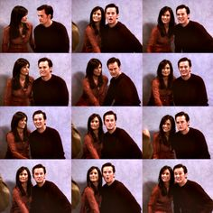 Chandler can't smile. #friends