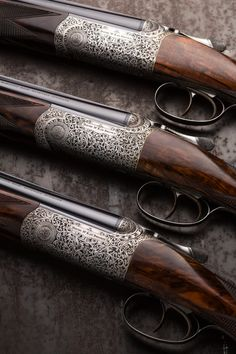 Set of 3 28g 29″ Barrel Over and Under Guns by McKay Brown.