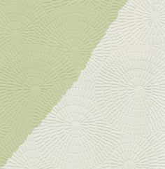 Contemporary Dandelion Circle Raised White Textured Paintable Wallpaper CT188651 #BlueMountain