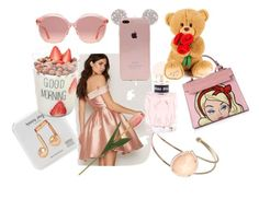 """""""Mothers day"""" by anne-lise-knoph on Polyvore featuring Chi Chi, Miu Miu, Gucci, Happy Plugs and beautifulhalo"""