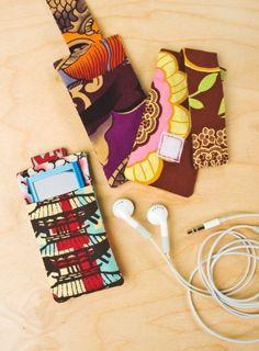 Belt Loop MP3 Player Holder - Free Sewing Pattern + Tutorial