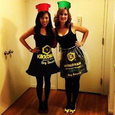 Kikkoman Soy Sauce Costume #Halloween