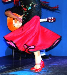 El flamenco.