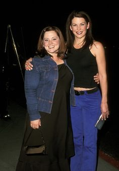 "Behind every Lorelai, there's a Sookie.  (Melissa McCarthy will ALWAYS be ""Sookie"" to me!)"