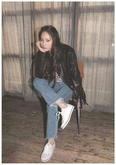 Krystal for Keds Krystal Fx, Jessica & Krystal, Krystal Jung Fashion, Krystal Jung Style, K Pop, Celebs, Celebrities, How To Look Pretty, Kpop Girls