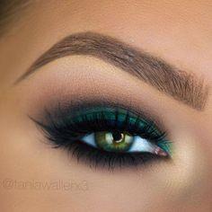 Gorgeous Makeup: Tips and Tricks With Eye Makeup and Eyeshadow – Makeup Design Ideas Makeup For Green Eyes, Blue Eye Makeup, Smokey Eye Makeup, Eyebrow Makeup, Skin Makeup, Smoky Eye, Dramatic Eye Makeup, Eye Makeup Steps, Colorful Eye Makeup