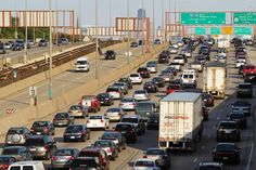 Yup, it's chicago's traffic :)
