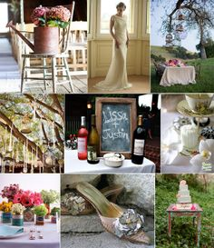 Antique Wedding Bouquets | ... flowers. and the vintage tins bursting with colorful bouquets are