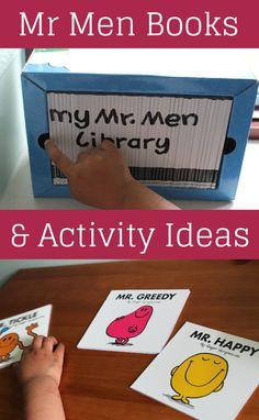 Mr Men Books - In The Playroom