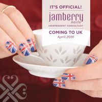 You can request your free Jamberry Nail Wraps Sample today, because they are expanding to the UK in April they would like residents of United Kingdom some freebies before they launch.