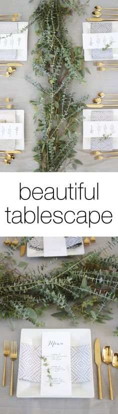 Beautiful tablescape ideas for a wedding or party ... plus a KitchenAid appliance GIVEAWAY!
