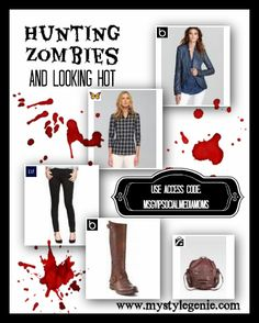 Me? Probably not white pants. The Walking Dead Season 3 Premiers THIS Sunday! What would you wear to a zombie apocalypse?