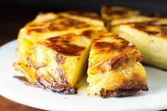 For a simultaneously creative and incredibly simple way to elevate the humble potato, try this potato pie bake with layers so thin and delightful they seem to be cut with a laser.
