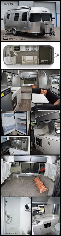 Designed for weekend warriors, this Airstream Sport 22FB Travel Trailer lets you bring along the amenities that take any camping trip to the next level. Every inch of the space is cleverly arranged to be efficient, keep you comfortable, and inspire even more fun. Motorhomes For Sale, Class A Motorhomes, Trailers For Sale, Airstream Sport, Airstream Travel Trailers, Grand Design Rv, Fifth Wheel Campers, Keystone Rv, Rv Dealers
