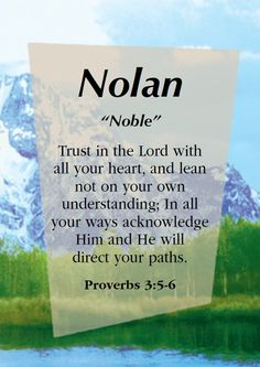 """Nolan """"Noble"""" - comment here with name requests! We'll post your request on the Dream Names board."""