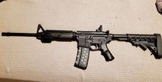 JoeJam2013 with A*B Pro Hand Guard and P*Grip Submissive, Guns, Weapons, Pistols, Sniper Rifles, Rifles, Gun